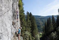 Klettersteig Rieder Klamm in Gerlos