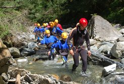 Canyoning in der Gerlos