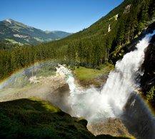 Die höchsten Wasserfälle Europas | © Krimmler Wasserfälle