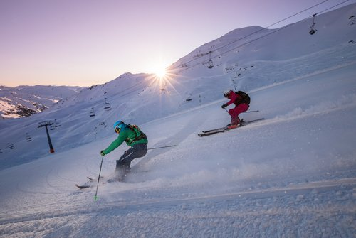 Skifahren im größten Skigebiet des Zillertal | © Zillertal Arena