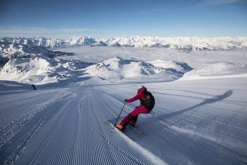 Skifahren im Zillertal | © Zillertal Arena