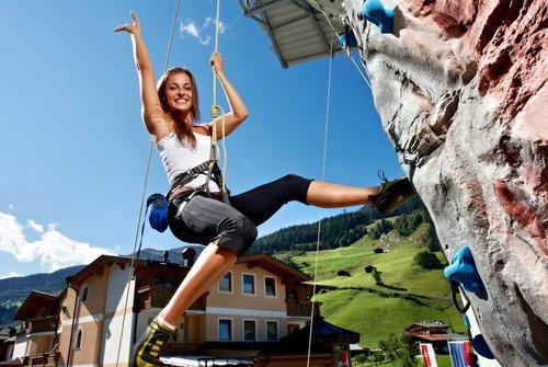 Kletterturm in Gerlos | © Zillertal Arena