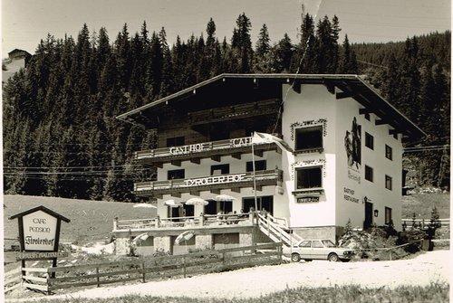 Tirolerhof Gerlos in seinen Anfangstagen