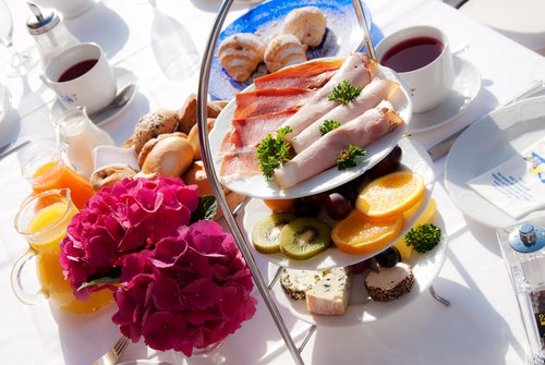 Reichhaltiges Frühstücksbuffet im Tirolerhof